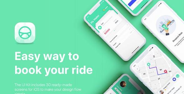 Uber Like Website Templates from ThemeForest
