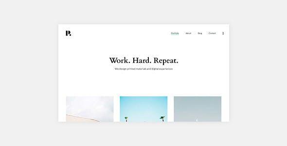 Philament - Creative Photography/Portfolio WordPress Theme For Elementor