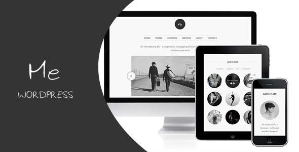 Me - OnePage Portfolio - Portfolio Creative