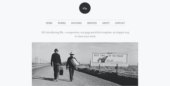 Me - OnePage Portfolio