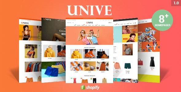 Unive - Multipurpose Shopify Theme - Shopify eCommerce