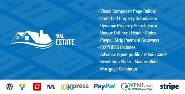 Real Estate WordPress - Real Estate WP - WordPress