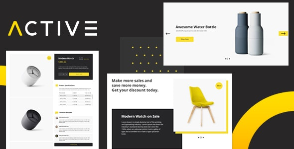 Active - Business and E-commerce HTML5 Template - Business Corporate