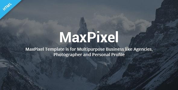 MaxPixel - Multipurpose Parallax Template - Creative Site Templates