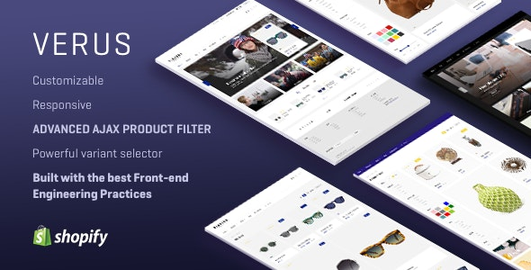 VERUS - Multipurpose Responsive Shopify Theme - Fashion Shopify