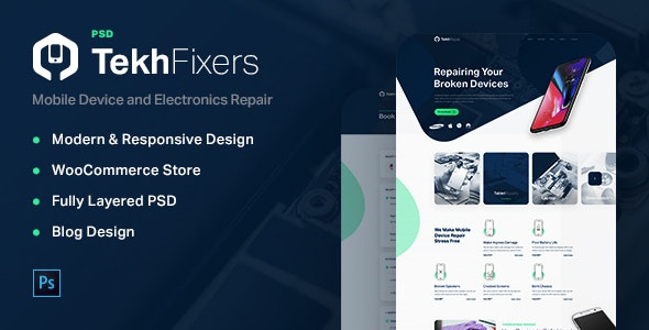 TekhFixers - Phone and Electronic Devices Repair Shop - Electronics Technology