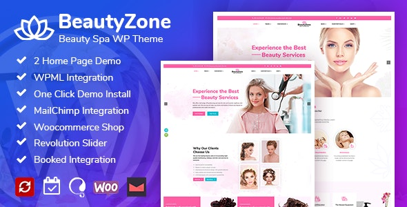 BeautyZone: Beauty Spa Salon WordPress Theme - Health & Beauty Retail