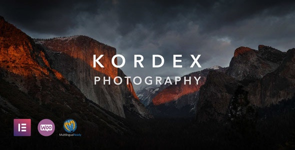 Kordex | Photography Theme for WordPress - Photography Creative