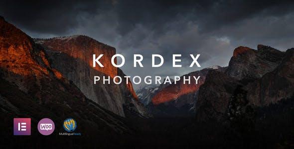 Kordex   Photography Theme for WordPress
