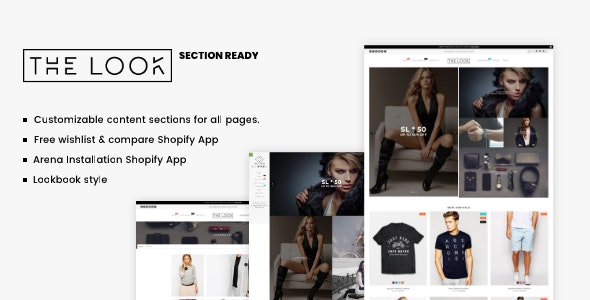 Minimal Fashion Shopify Theme - The Look - Fashion Shopify