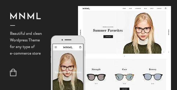 Mnml - Minimal Responsive WooCommerce Theme - WooCommerce eCommerce