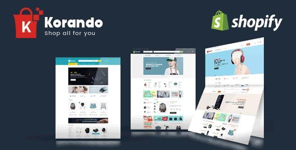 Korando - Electronics and Fashion Shopify Theme - Shopping Shopify