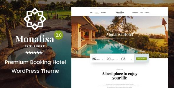 Monalisa | Hotel & Resort WordPress Theme - Travel Retail