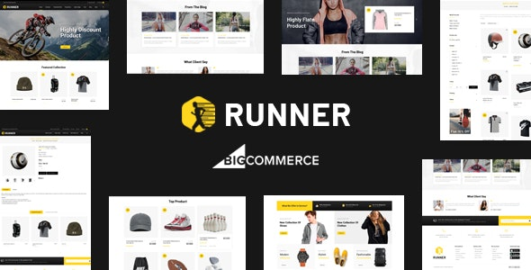 Runner - Multipurpose Stencil BigCommerce Theme - BigCommerce eCommerce