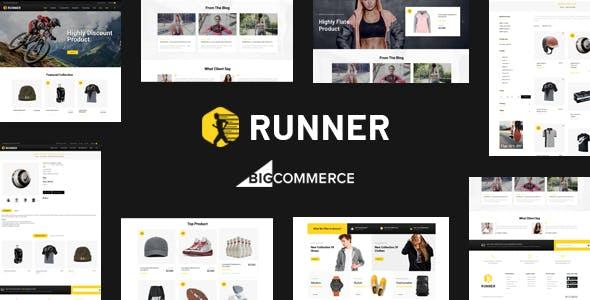 Runner - Multipurpose Stencil BigCommerce Theme