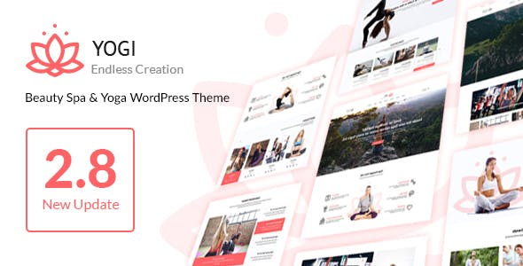 Yogi - Health Beauty & Yoga WordPress Theme