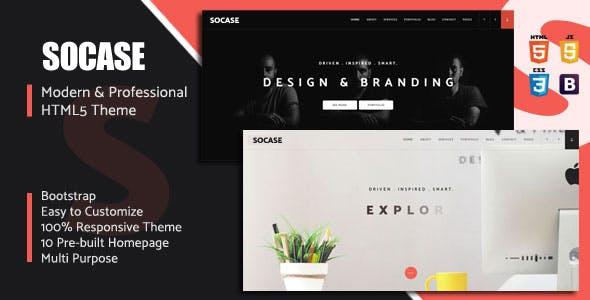 Socase- Multipurpose HTML5 Template