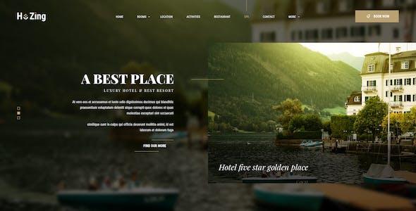 Hozing - Hotel Booking PSD Template
