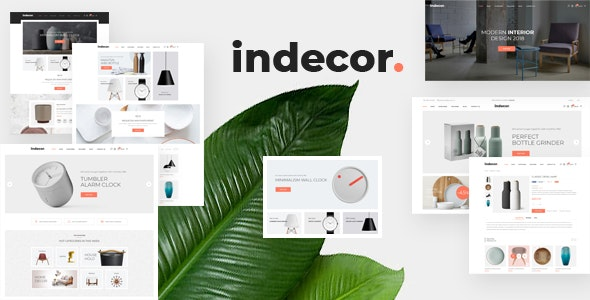 Indecor – Minimal Furniture Store HTML Template - Shopping Retail