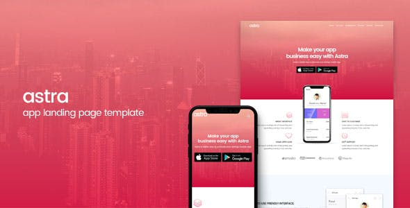 App Landing Page Templates from ThemeForest (Page 5)