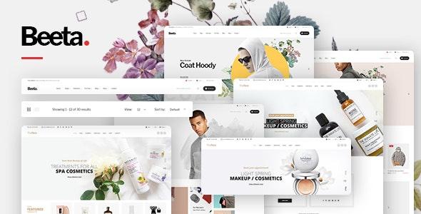 Beeta – Fashion Cosmetics Store HTML Template - Shopping Retail