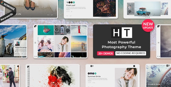 The Halftoon | Multipurpose Photography WordPress Theme - Photography Creative