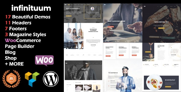 Infinituum | Responsive Multi-Purpose WordPress Theme - Corporate WordPress