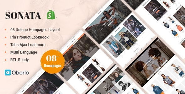 Sonata - Fashion & Clothes Shopify Theme - Fashion Shopify