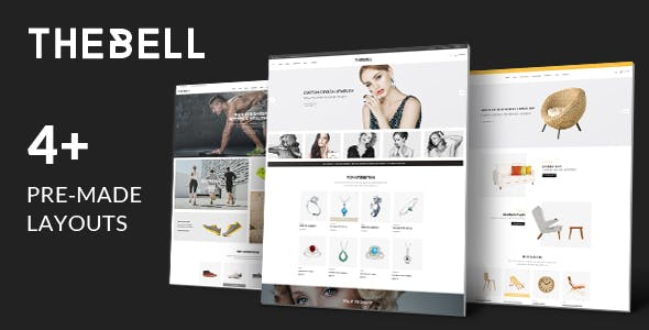 TheBell – Jewelry Furniture Shoes Store HTML Template