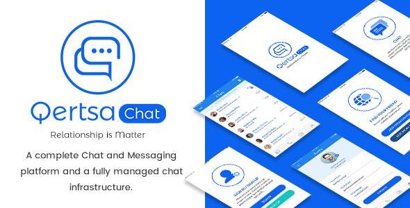 Qertsa - Mobile App PSD - Miscellaneous PSD Templates