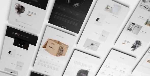 Arrigo – Minimal Portfolio Contemporary HTML5 Template - Portfolio Creative