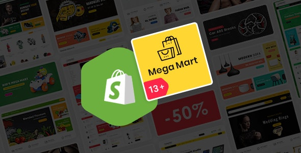 Mega Mart - Shopify Multi-Purpose Responsive Theme - Shopping Shopify