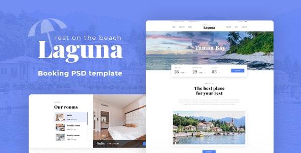 Laguna PSD Template - Retail Photoshop