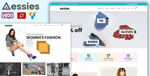 Essies - Modern Fashion WooCommerce Theme