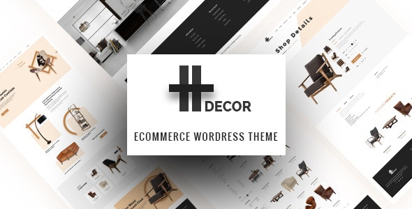 H Decor - Creative WP Theme for Furniture Business Online - WooCommerce eCommerce
