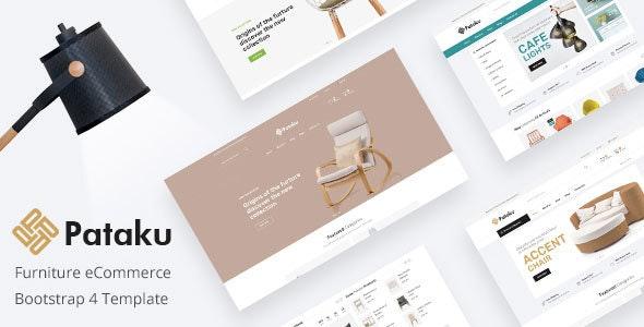 Furniture Minimal HTML Template - Pataku - Shopping Retail