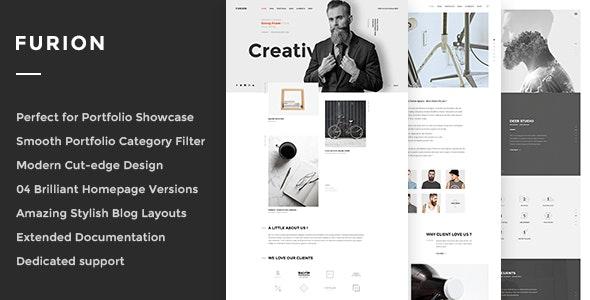 Furion - Creative Blog & Portfolio WordPress Theme - Portfolio Creative