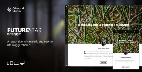 FutureStar: A Minimalistic & Creative Theme for Personal Blogging