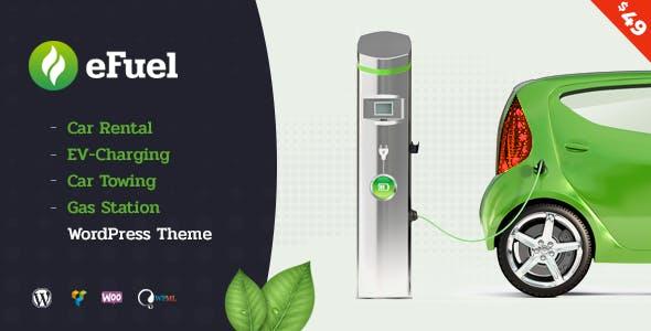 Efuel Car Al Ev Charging Towing And Gas Station WordPress Theme