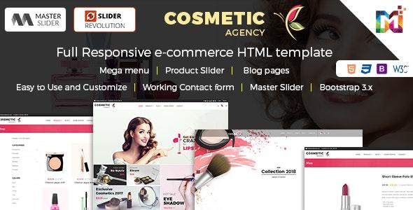 Cosmetics - Multi-Purpose eCommerce Shop HTML Template - Shopping Retail