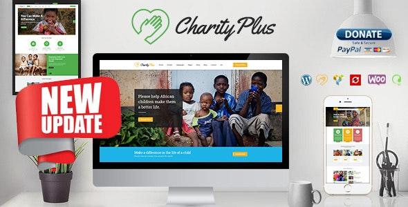 Charity Plus - Multipurpose Nonprofit WordPress Theme - Charity Nonprofit