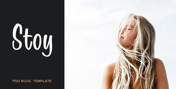Stoy - Blog PSD Template - Personal PSD Templates