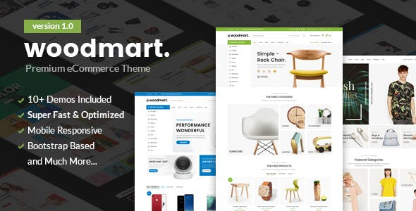 Woodmart - Responsive Shopify Template