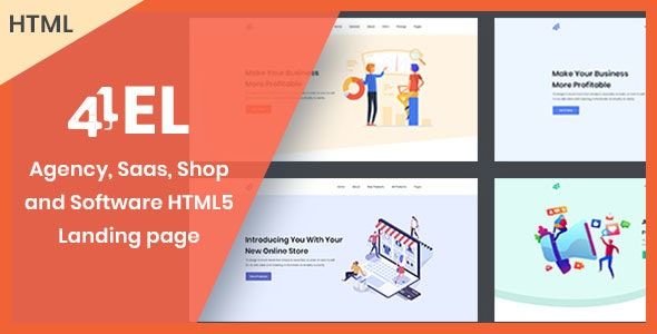 Fourel | HTML Landing page for Software, App, Saas and Shop - Software Technology