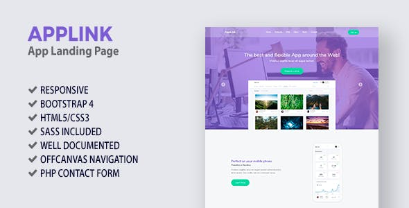 AppLink - App Landing Page