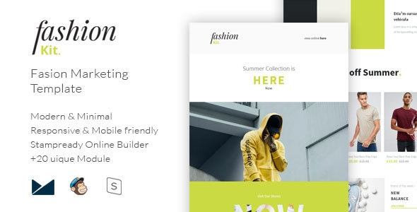 FashionKit - Fashion Marketing Template - Email Templates Marketing