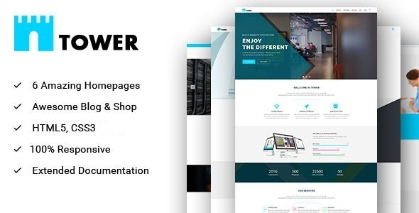 TOWER - Corporate Business Multipurpose WordPress Theme - Business Corporate