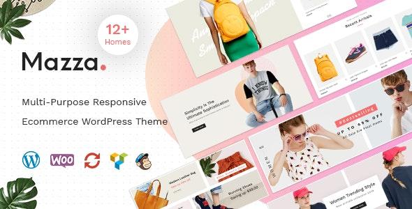 Mazza - Multi-purpose Creative WooCommerce Theme - WooCommerce eCommerce
