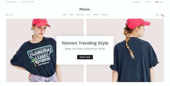 Mazza - Multi-purpose Creative WooCommerce Theme