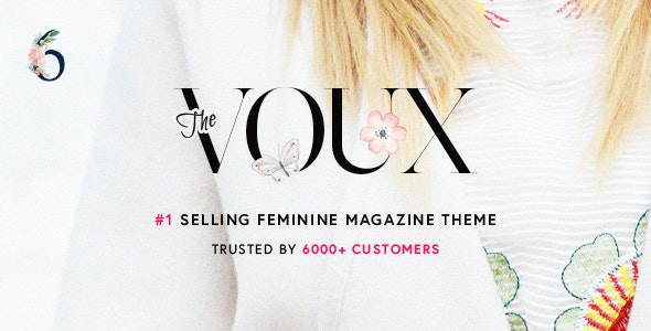 The Voux - A Comprehensive Magazine WordPress Theme - News / Editorial Blog / Magazine